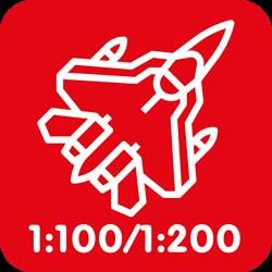 Luchtmacht 1:100/1:200