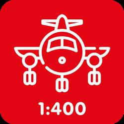 Burgerluchtvaart 1:400