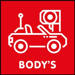 Mini-Z Bodys