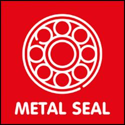 Kogellagers Metal-seal