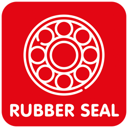 Kogellagers Rubber-seal