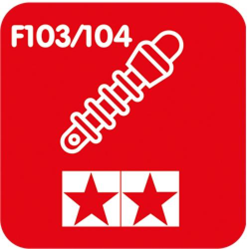 Tamiya F103/104 Hop-ups